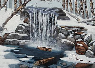 Painting - Sping Summer Fall Winter by Susan Roberts