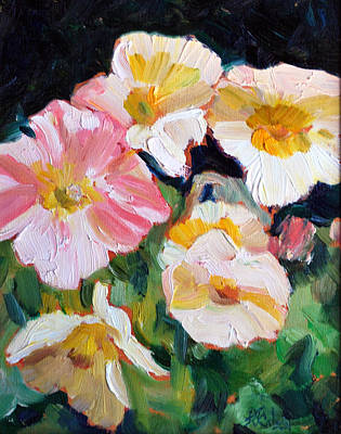 Painting - Spingtime Poppies by Billie Colson