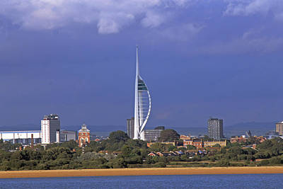 Photograph - Spinnaker Tower by Tony Murtagh
