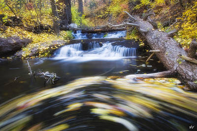 Payson Photograph - Spinning Autumn by Peter Coskun
