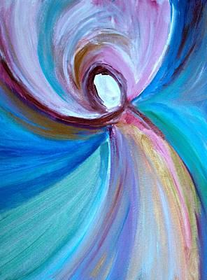 Spinning Light  Art Print by Alma Yamazaki