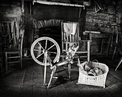 Mayberry Photograph - Spinning Room by Patrick M Lynch