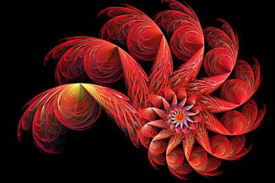 Digital Art - Spinning by Sandy Keeton