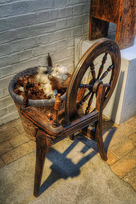 Photograph - Spinning Wheel by Ian Mitchell