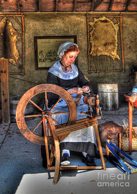 Photograph - Spinning Yarn by Kathy Baccari