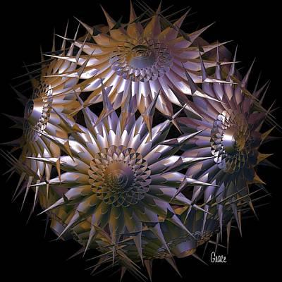 Spiny Beauty Art Print by Julie Grace