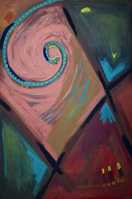 Spiral 2012 Art Print by Drea Jensen