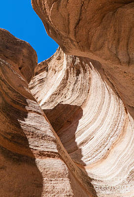 Spiral At Tent Rocks Art Print