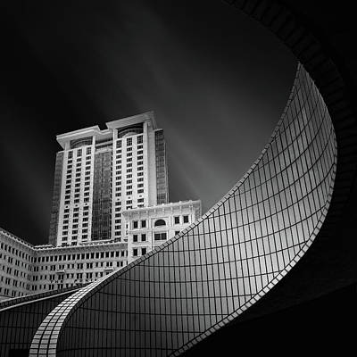 Tsim Photograph - Spiral City by Mohammad Rafiee