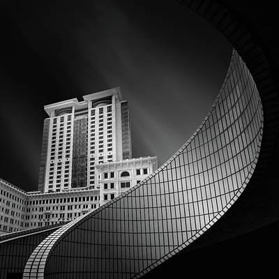 Spiral City Art Print