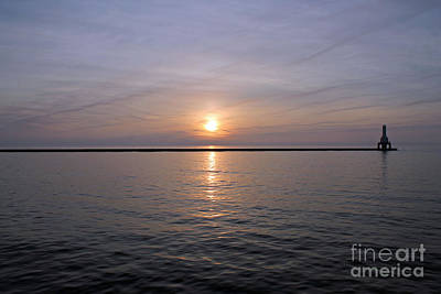 Bliss Michigan Photograph - Spiral Clouds At Sunrise by Eric Curtin