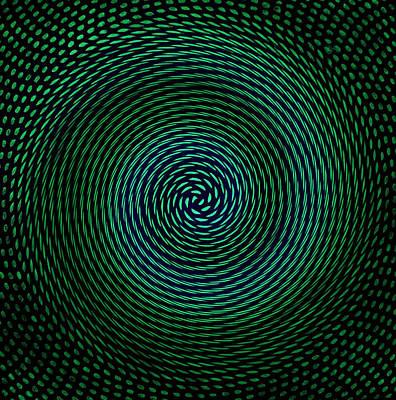 Universe Digital Art - Spiral Fibonacci by Twilight Vision