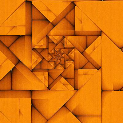 Digital Art - Spiral Form by Richard Ortolano