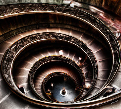 Photograph - Spiral Of Fantasy by Weston Westmoreland