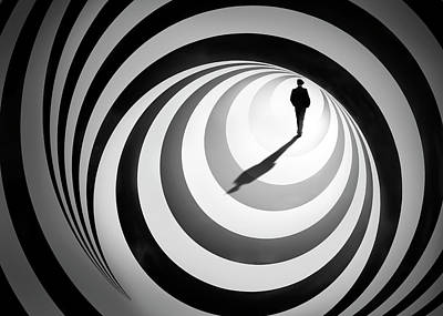 Shape Photograph - Spiral Of Life 2 by Ben Goossens