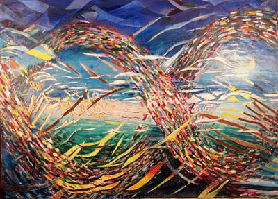 Spiral Optical Original by Ken Wohlgemuth