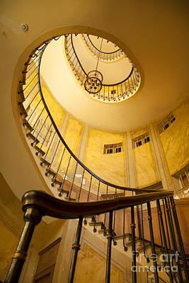 Photograph - Spiral Staircase by Brian Jannsen