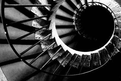 Photograph - Spiral Staircase by Fabrizio Troiani