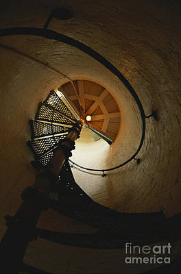 Photograph - Spiral Staircase by Gregory G. Dimijian, M.D.