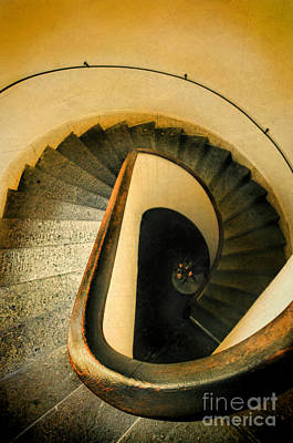 Photograph - Spiral Staircase by Jill Battaglia
