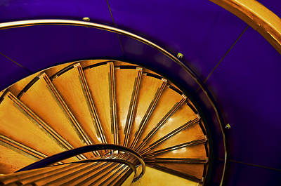 Photograph - Spiral Staircase by Maria Coulson