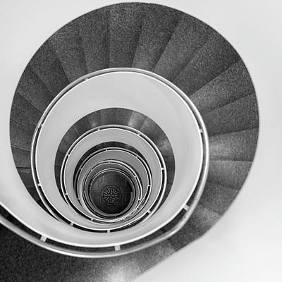 Photograph - Spiral Staircase by Martin Wahlborg