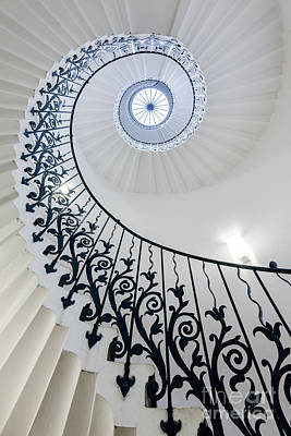 Photograph - Spiral Staircase by Matt Malloy
