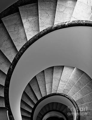 Photograph - Spiral Staircase by Prints of Italy
