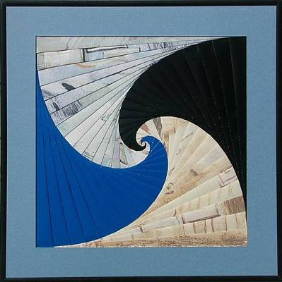 Mixed Media - Spiral Staircase by Ron Davidson