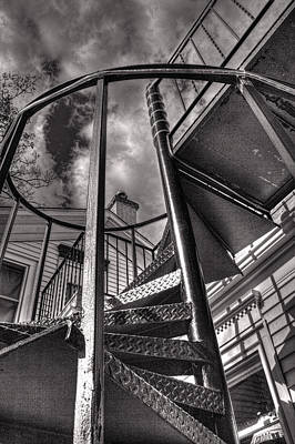 Photograph - Spiral Stairs I by Roger Passman