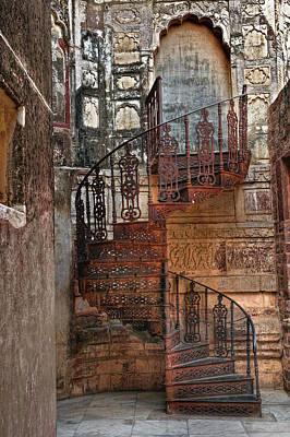 Spiral Stairs, Mehrangarh Fort Art Print