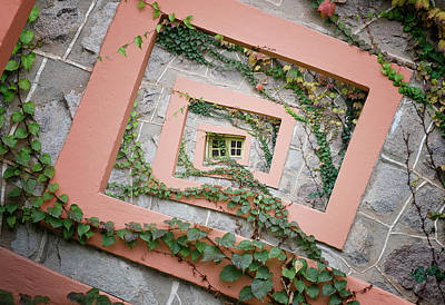 Spiral Wall Art - Photograph - Spiral Window by Chechi Peinado
