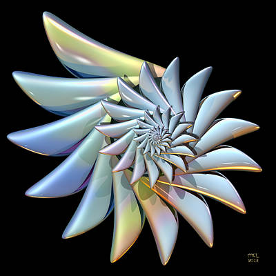 Digital Art - Spirality by Manny Lorenzo