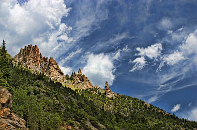 Photograph - Spires And Sky by Gregory Scott