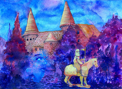 Knights Castle Mixed Media - Spires by James Huntley