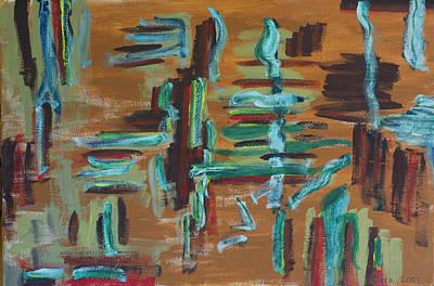 The Universe Painting - Spirit 2007 by Drea Jensen