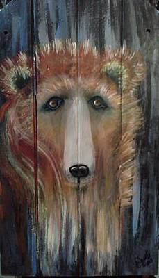 Painting - Spirit Bear by Carol Duarte