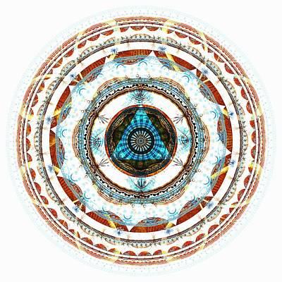 Harmony Digital Art - Spirit Circle by Anastasiya Malakhova