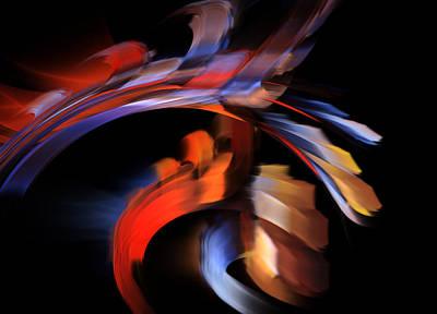 Spirit Dancer Art Print by Jan Brieger-Scranton