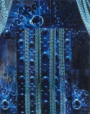 Mixed Media - Spirit Door by Denise Mazzocco