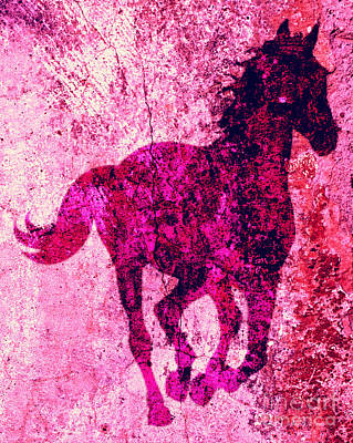 Painting - Spirit Equus  by Mindy Bench
