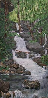 Painting - Spirit Falls by Sharon Duguay