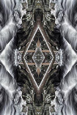 Spirit Gathering Art Print by Dawn J Benko