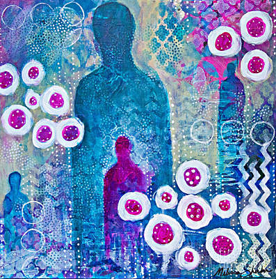 Mixed Media - Spirit Guides 02 by Melissa Sherbon