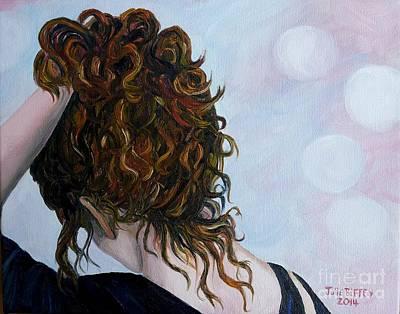 Contemplative Painting - Spirit Guides by Julie Brugh Riffey