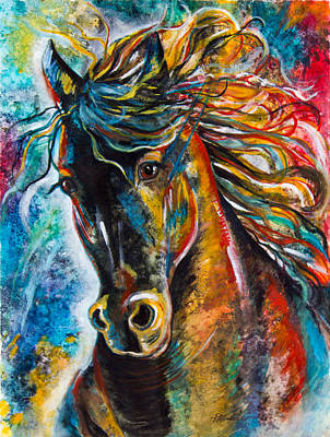 Running Wild Horses Paintings | Fine Art America