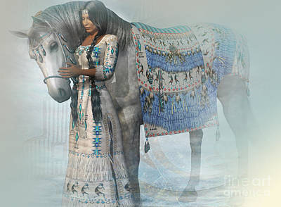Spirit Horse Art Print by Shadowlea Is