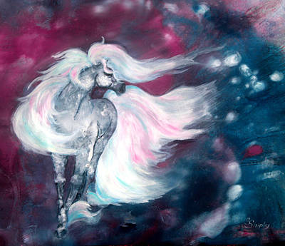 Spirit Horse Art Print by Sherry Shipley