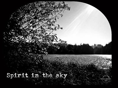 Photograph - Spirit In The Sky by Absinthe Art By Michelle LeAnn Scott