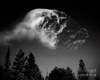 Spirit In The Sky Art Print by Arne Hansen